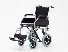 YJ-021C Steel transit wheelchair