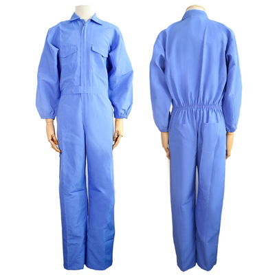 Very Cheap Light Blue 130 Grams Polyester Middle East Style PPE Safety Coveralls Workwear