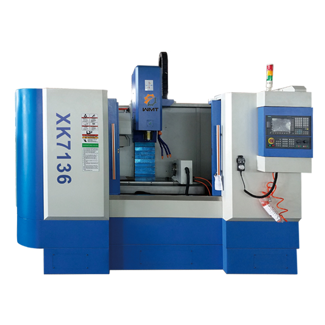 XK7136 3 AXIS CNC MILL WITH 12 POSITION ATC