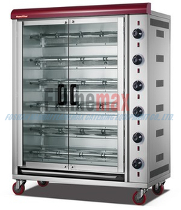 HGJ-6PA New design commerical 6-rod Gas Rotisserie in Foshan