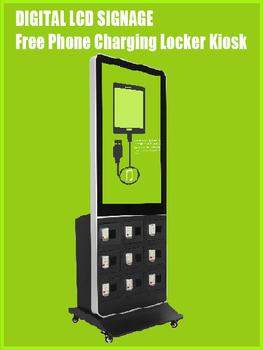 Three Profit Models for Mobile Phone Charging Station Digital LCD Signage