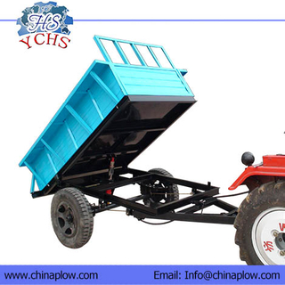 Two Wheels Tipping Trailers