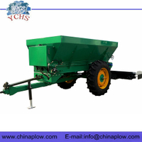 Tractor tow behind manure fertilizer spreader
