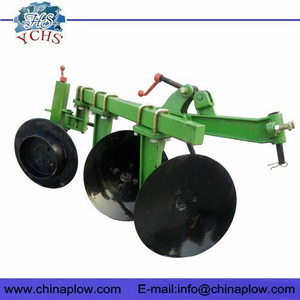 Walking tractor 2 disc plough