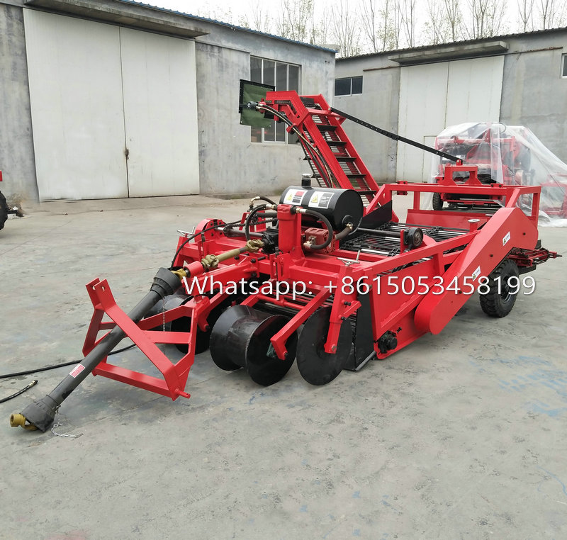 Self-loading Combined potato harvester for tractor