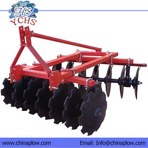 Mounted light disc harrow