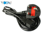 3 Pin UK Extension Power Cord Cable with Fuse