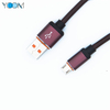 Leather USB Charging+Data Cable for Micro