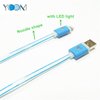 Noodle Shape iPhone Data USB Cable with LED Light