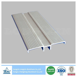 Silver Anodized Aluminum Profile for Decoration