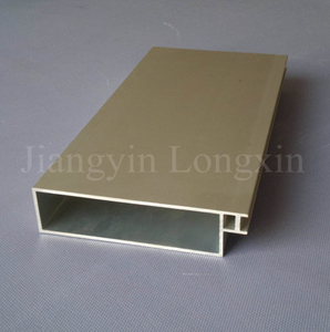 Sandblasted Anodizing Aluminium Profile for Curtain Wall