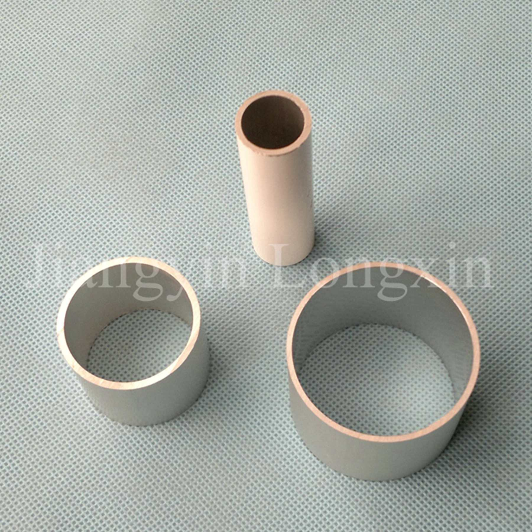White Powder Coating Aluminum Pipe
