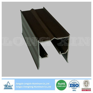 Brown Anodizing Aluminum Profile for Construction