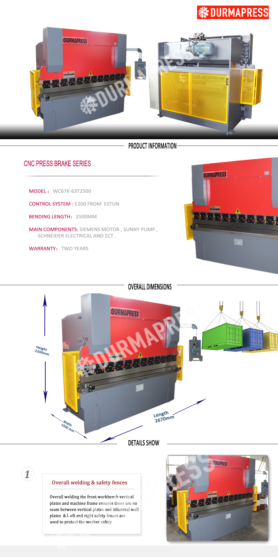 Wc67k 63t3200 Cnc Press Brake With E200 Control System Xy Axis Simple Hydraulic How To Decompression In 63t2500 Details