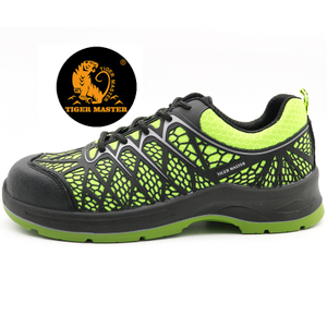 Anti slip KPU upper fashion sport safety shoes steel toe