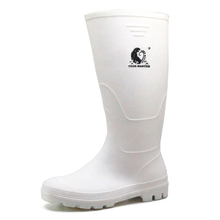 Anti Slip Light Weight Non Safety Food Industry Pvc Rain Boots for Men