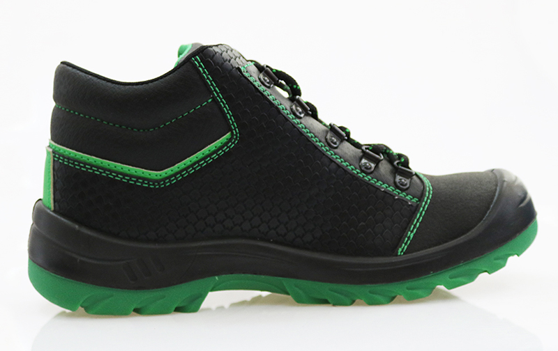 High ankle construction safety shoes