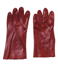 3102 PVC dipped working safety gloves