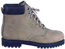 97042 nubuck tumble leather safety shoes