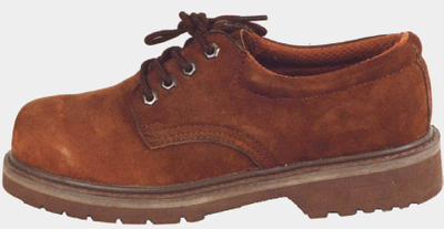 Nubuck leather goodyear welted safety shoes
