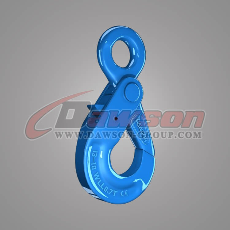 Grade 100 European Type Eye Self-Locking Hook, Forged Steel Hook for G100 Chains - China Supplier, Factory