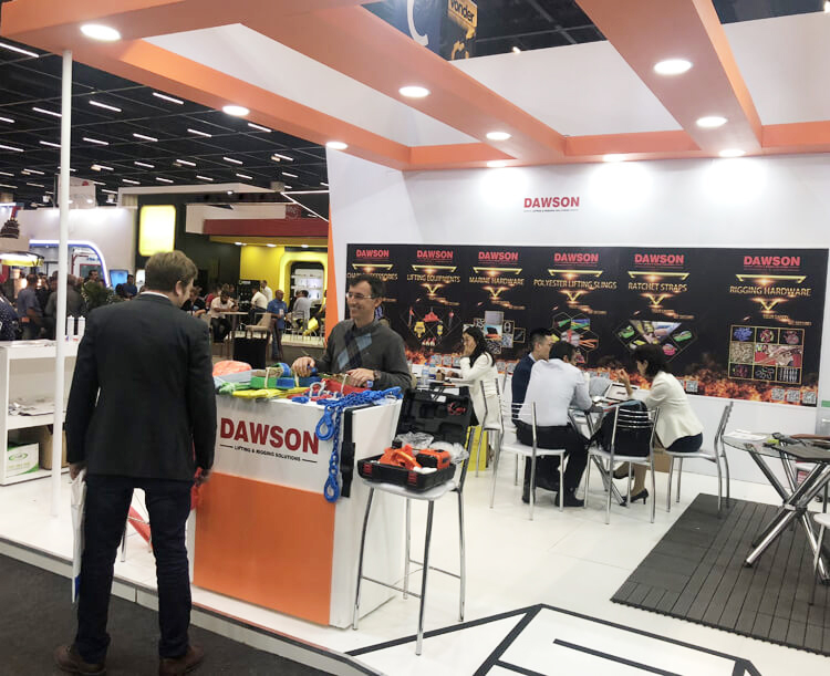 DAWSON - Brazil Feicon Batimat 2019 Show - China Factory