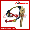 50MM Ratchet Tie Down Straps, Web Tensioner For Chain LC 3800KG