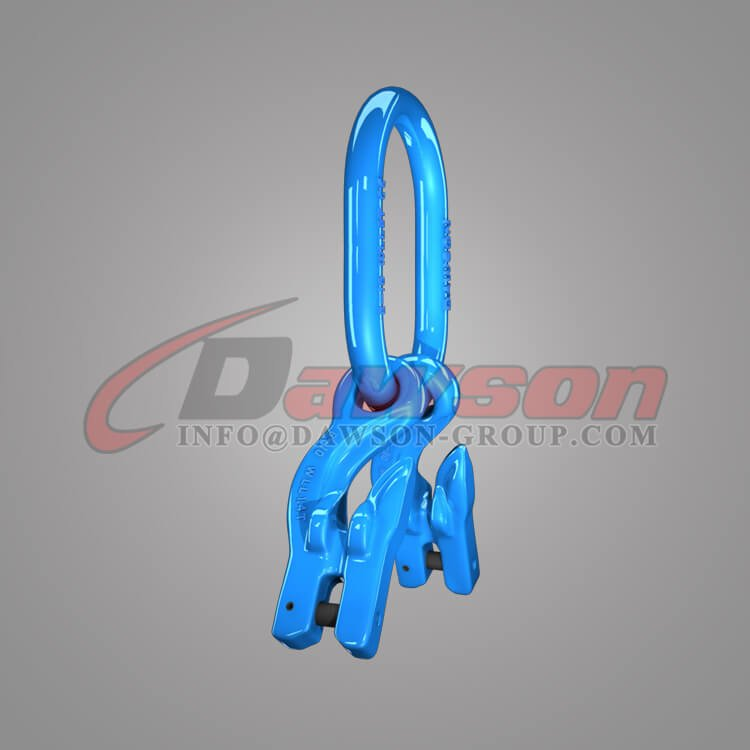 Grade 100 Master Link for Chain Slings + Grade 100 Eye Grab Hook with Clevis Attachment × 2 - Dawson Group Ltd - China Supplier, Factory