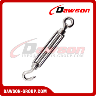 Stainless Steel. DIN1480 Turnbuckle (Eye & Hook)
