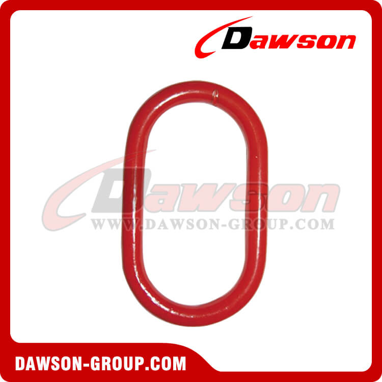 DS482 G80 Master Link with Flat for Wire Rope Slings - Dawson Group Ltd. - China Supplier