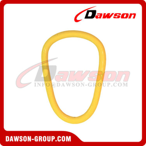 DS337 G80 Forged Alloy Steel Pear Type Master Link for Steel Wire Rope Sling / Chain Slings