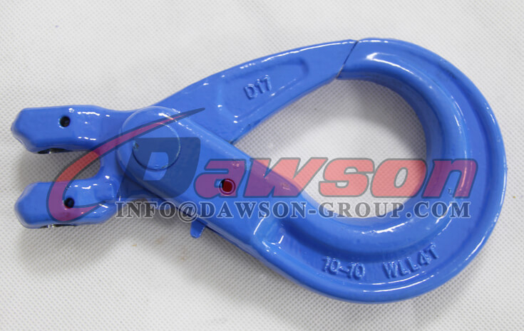 G100 European Type Forged Clevis Self-Locking Hook for Lifting Chain Slings - Dawson Group Ltd. - China Supplier, Exporter