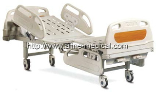 Two crank deluxe hospital bed