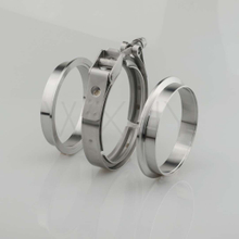 Stainless steel v band clamps for exhaust