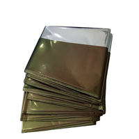 Custom Manufacturing Outdoor Camping Hiking Aluminum Foil Insulation Emergency Thermal Blanket