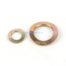 curved spring washer din128a/b