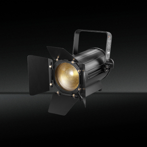 TH-350 Manual de alta calidad Zoom 100W 2in1 Led Fresnel Spotlight con zoom para escenario