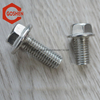 metric ISO 15071 stainless steel heavy hex flange bolts usually used on machines