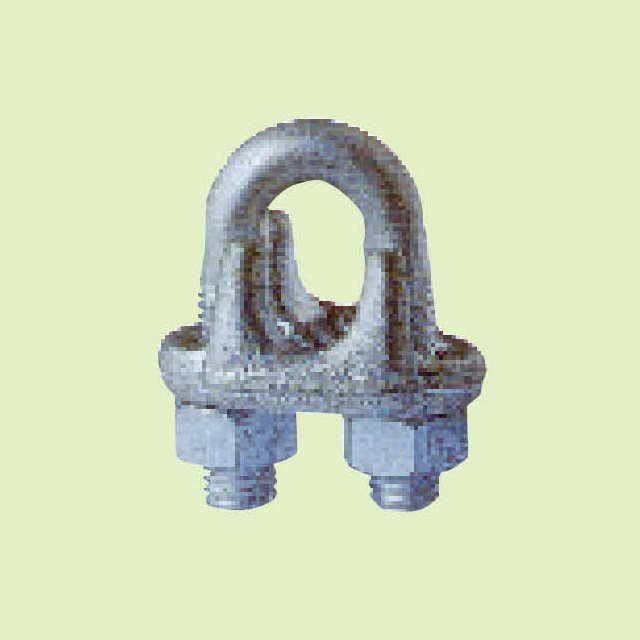 DROP FORGED WIRE ROPE CLIPS JIS TYPE