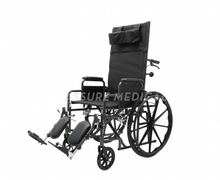 YJ-011 Steel Manual Wheelchair Reclining Wheelchair