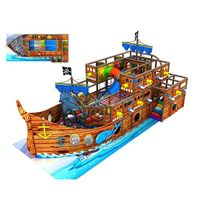 Pirate Ship Themed Foam Small Indoor Toddler Playground
