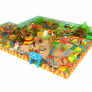 Colourful Kids Indoor Playground Soft Contained Play Structure