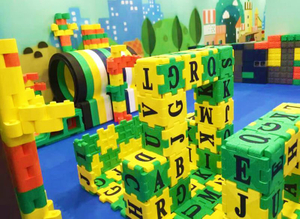 Building Block of toddler Indoor playground