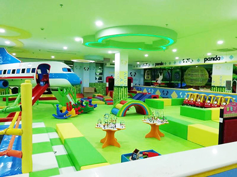 Forest theme Indoor Playground Case in India