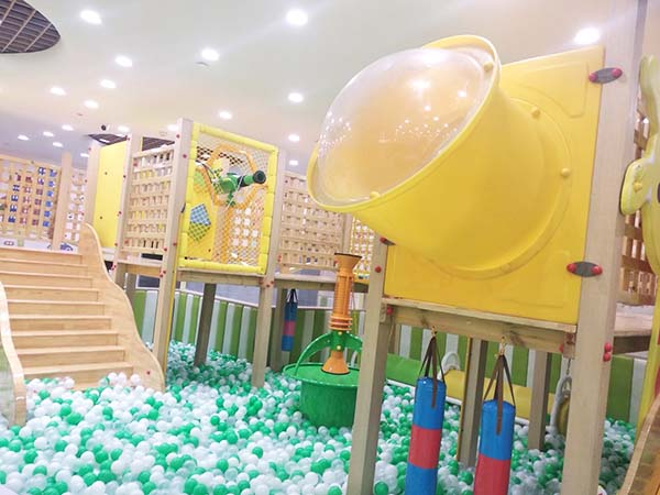 indoor ball pit playground equipment for sale