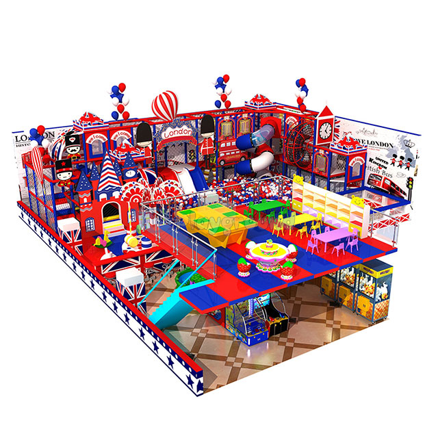 Custom Design Commercial Indoor Soft Play Structure with Ball Pool