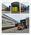 Dissolved air flotation machine for sewage treatment DAF loading to Romania