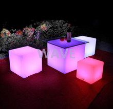 Remote Control LED Cube Chair