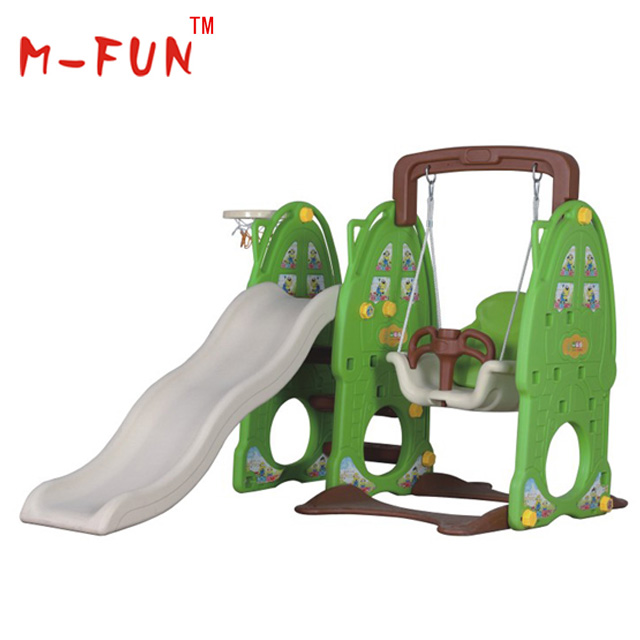 Kid small plastic slide