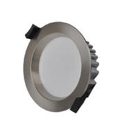 SMD LED Downlight Kit (Separate Driver) 13W 90mm Cutout Chrome Silver